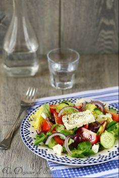 Salade grecque - Greek salad  ©Edda Onorato