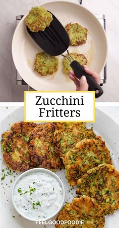 Zucchini Fritters - Appetizer | Side