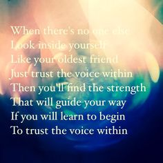 The Voice Within-Christina Aguilera<3