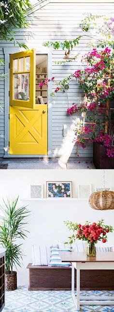 Casa colorida y trendy / http://style-files.com/