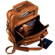 The Organized Traveler's Carry On  170usd #marron #cuir #industriel