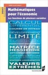 Mathématiques pour l'économie : les fonctions de plusieurs variables / Pierre-Alain Guillo - http://bib.uclouvain.be/opac/ucl/fr/chamo/chamo%3A1919791?i=0