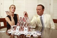 Kevin Spacey & Robin Wright in House of Cards