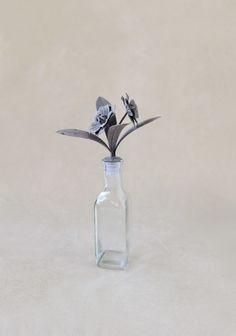 Precious Poppies Small Decorative Bottle