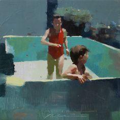 Artodyssey: Jose Luis Cena Painting People, Figure Painting, Painting & Drawing, Guache, Paintings I Love, Old Art, Portrait Art, Contemporary Paintings, Cool Artwork