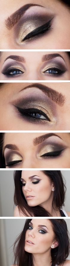 MUS Eyeprimer tinted    Eleven earth vs pastels eyeshadow palette    MAC reflects glitter Bronze    MUS Eyepencil black    MAX factor clump defy mascara  Fate of flower eyeliner    Ardell lashes 305