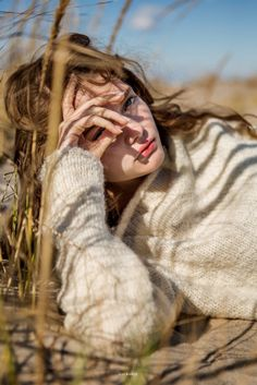 Katiusha Feofanova is captured on the beach by Hiroyuki Seo for editorial dream magazine Teeth. The Russian stunner is styled by Jessica Zamora-Turner wearing winter ready knitwear, make-up is dewy and focuses on Katiusha's full pout.