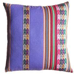 Peruvian Purple Stripe Pillow