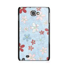 Colorful Flowers Samsung Galaxy Note Case
