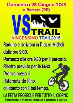 28 giugno VINCE&SIMO TRAIL 2015
