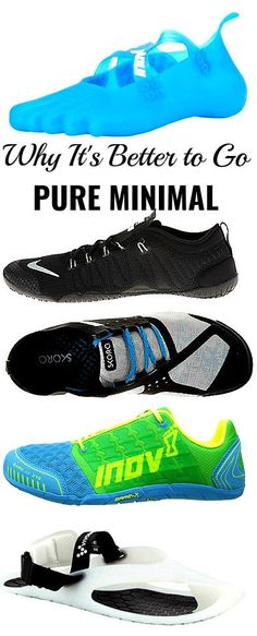 Always wear minimalist running shoes with the least amount of padding. Barefoot  Shoes 8ee72609f