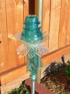 Glass Garden Decor