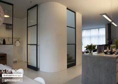 Stalen binnendeuren met glas in Willemstad | G. de Rooy Stalen binnendeuren