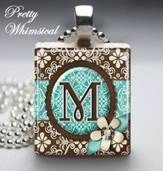 Fun necklace M on prettywhimsical on Etsy