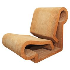 Frank Gehry, contour chair , 1970's