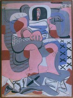 La pêcheuse d'huitres - Le Corbusier  1935