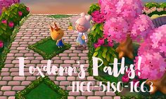 So I know you guys have been asking for a while, so here you go! I'm finally posting Foxdenn's spring/summer paths