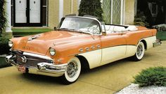 1956 Buick i had one was my 1st car black over white it had no reverse gave 50 bucks for it it was a hard top whis i still had it