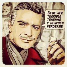 Mauricio Garces actor mexicano de desendencia libanes galan por naturaleza e  icono del cine mexicano en los años 60s