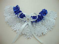 Garter Daisy lace garter Bridal garter by Hoalanebridal on Etsy, $21.00