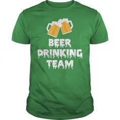 Awesome Beer Lovers Tee Shirts Gift for you or your family member and your friend:  St. Patricks Beer Drinking Team Tee Shirts T-Shirts
