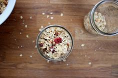 toasted oat and coconut muesli by joy the baker, via Flickr