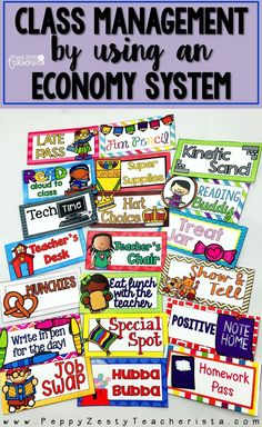 Classroom Economy [BUNDLE] Elementary teachers looking for classroom management ideas to help positively reinforce behaviors! This management system integrates personal financial literacy without breaking YOUR wallet! Classroom Economy System, Classroom Behavior Management, Classroom Jobs, Classroom Organization, Classroom Coupons Free, Classroom Discipline, Student Behavior, Classroom Setting, Classroom Activities