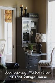 That Village House: My Painted Secretary