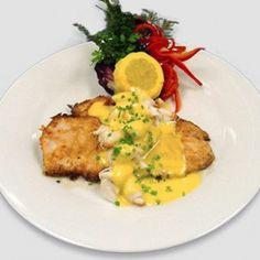 Pan Seared Red Fish with Lump Crabmeat