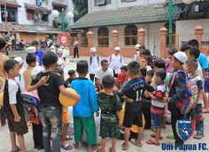 Coaching Clinic Rusun Tambora 7 Oct 2015 Jakarta Football Festival - GrabBike Rusun Cup 2015  #UniPapuaFootball #UniPapuaFc