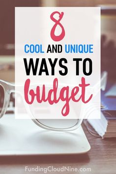 If you're struggling with sticking to a budget, check out these 8 unique ways to help you manage and allocate your money differently! #budget #budgettips #budgeting
