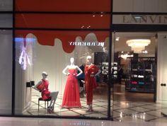 #Lanvin #DubaiMall 2014 #RedPaint