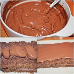 Prajitura cu crema de ciocolata si mascarpone - Rețete Papa Bun Something Sweet, Cake Recipes, Peanut Butter, Food, Dishes, Mascarpone, Kuchen, Easy Cake Recipes, Essen