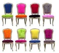 sillas tapizadas vintage - Buscar con Google
