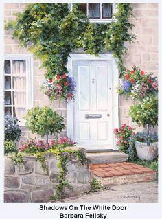 2-shadows-on-the-white-door-barbara-r-felisky.jpg (607×822)