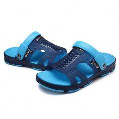 High-quality Men Hole Soft Water Friendly Sandals Casual Beach Shoes -  NewChic  Golffashion 18241feea