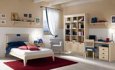 Habitación para niños/niñas de madera ROMANTIC Composition 14 by Callesella Arredamenti S.r.l.