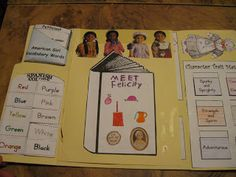 American Girl Lapbook from Hands of a Child