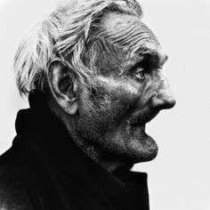 """""""Each man's hell is in a different place: mine is just up and behind my ruined face."""" ― Charles Bukowski (photo: Lee Jeffries)"""