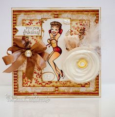 Showgirl-- Whimsy Stamps
