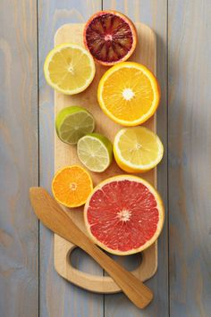 Orange, grapefruit, and lemon are all energizing and uplifting scents that can make you happier.