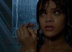 Video. Rihanna le da un giro a la escena de la ducha en 'Bates Motel'  - ENFILME.COM