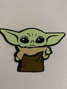 Baby yoda die cuts for your baby yoda party ! Yoda Card, Yoda Drawing, Yoda Funny, Star Wars Decor, Cartoon Painting, Fathers Day Crafts, Star Wars Party, Illustrations, Lettering