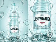 Nowa Cisowianka by Damian Misiura, via Behance