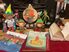 New Christmas books for a Christmas book club. Christmas Books, Father Christmas, Woodland Elf, Magical Creatures, Family Traditions, Easter Bunny, Elf On The Shelf, Elves, Over The Years