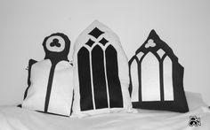 """Gothica""-handmade pillows"