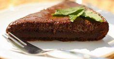 Recept na čokoládový dort bez mouky