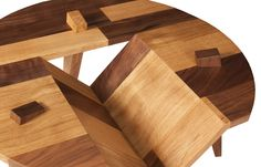 Dabney Coffee Table. Custom designed, one-of-a-kind. ©The Joinery