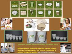 Check out some of these cool compostable items! Solid Waste, Cup Sleeve, Disposable Tableware, Reduce Reuse Recycle, Green Technology, Food Containers, Our Planet, Compost, Holiday Parties