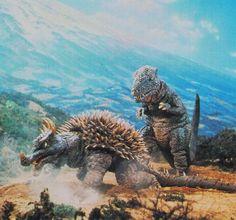 Anguirus   File:DAM - Anguirus and Gorosaurus.jpg
